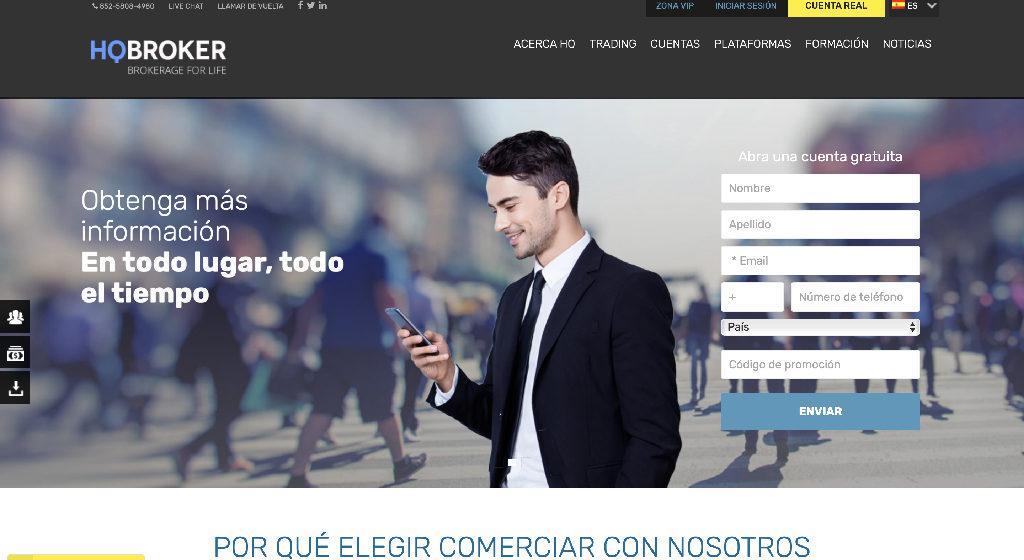 HQ Broker Forex Estafa