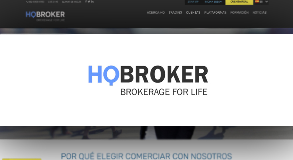 HQ Broker Forex Estafa
