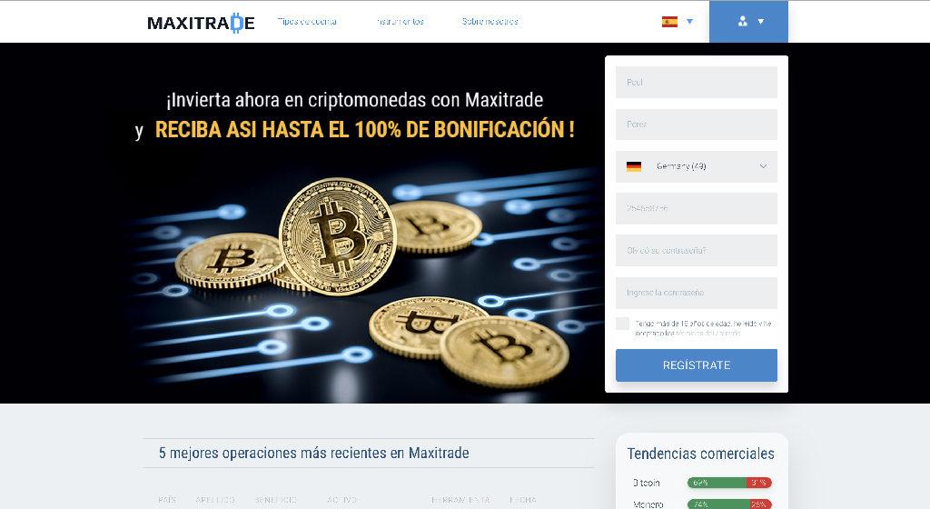Maxitrade Forex Estafa