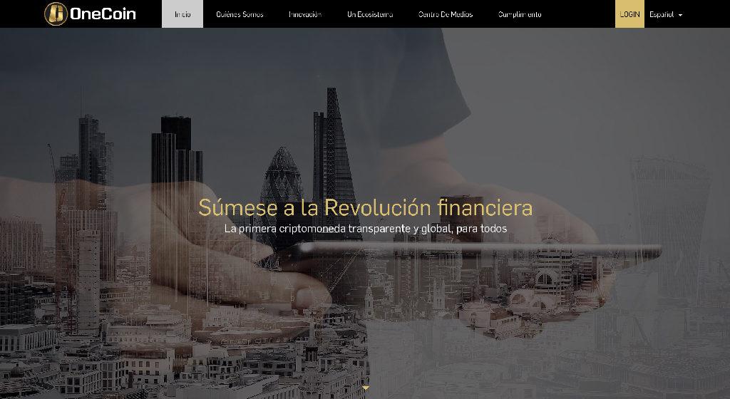 OneCoin Crypto Estafa   Forex Estafa