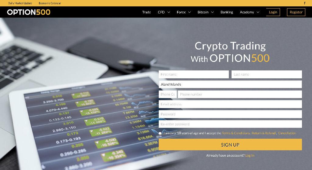 Option500 Forex Estafa