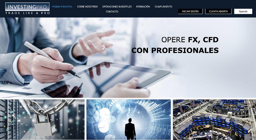 InvestingPRO Forex Estafa