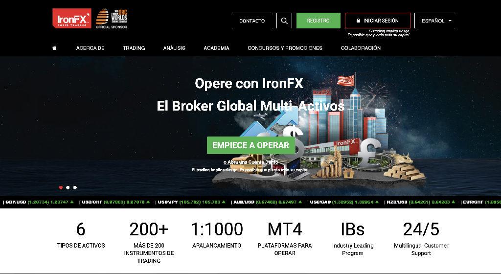 IronFX Forex Estafa