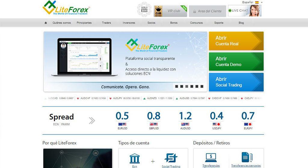LiteForex Forex Estafa