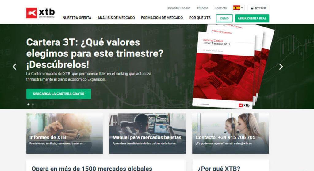 XTB España Forex Estafa