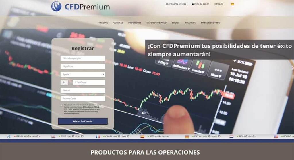CfdPremium Forex Estafa