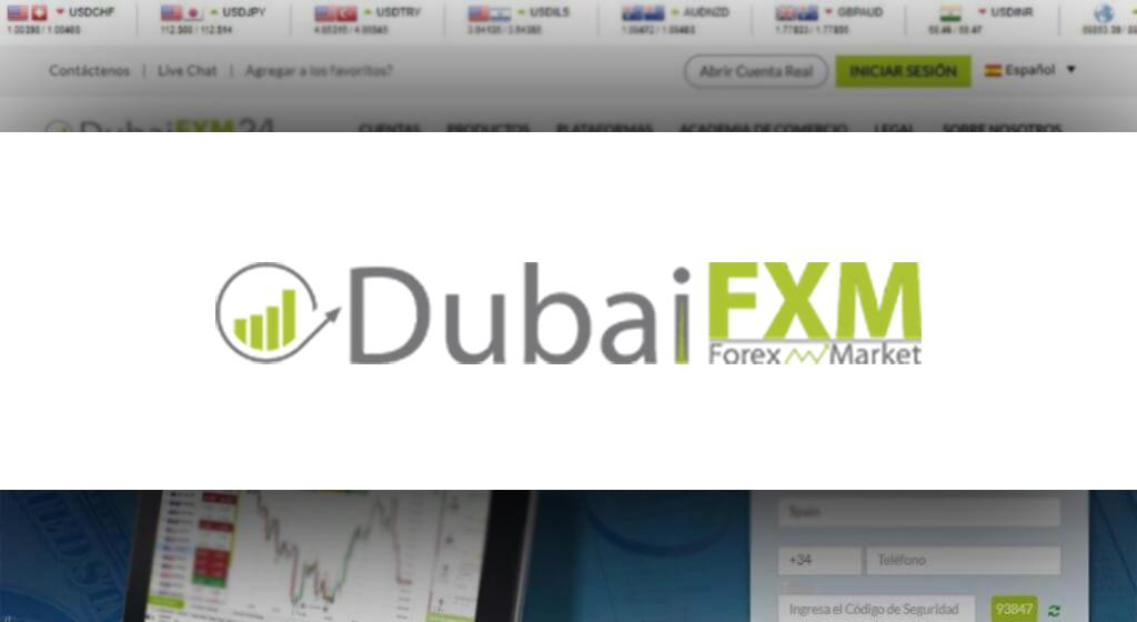 DubaiFXM 24 Forex Estafa