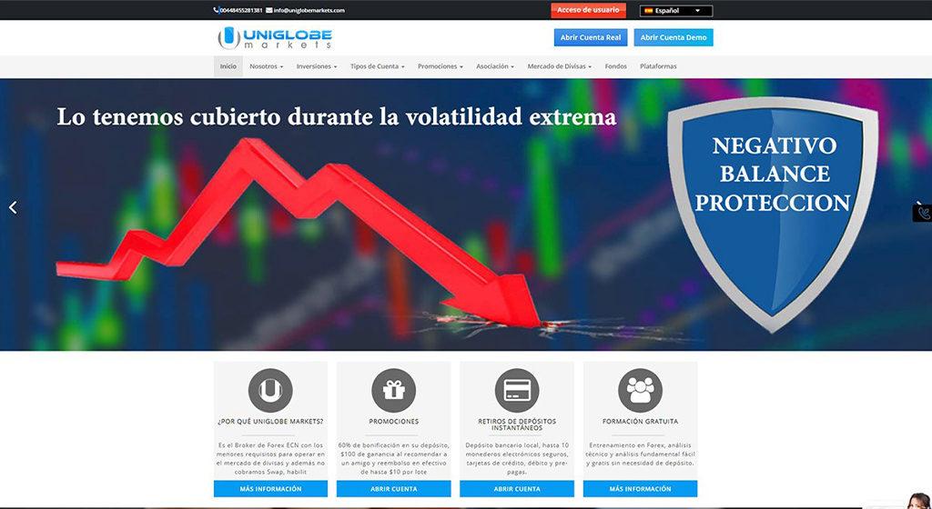 Uniglobe Markets Forex Estafa