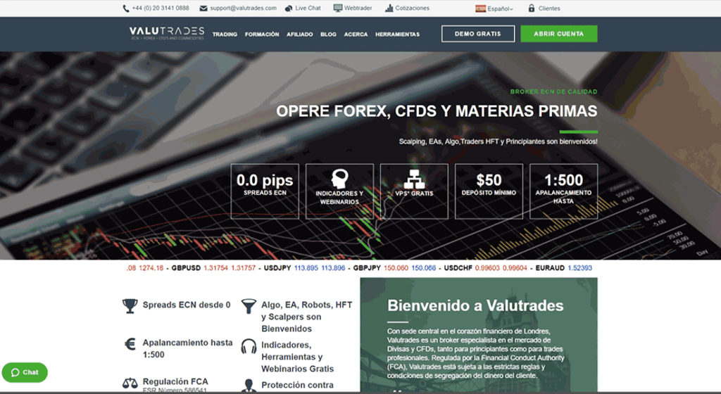 Valutrades Forex Estafa