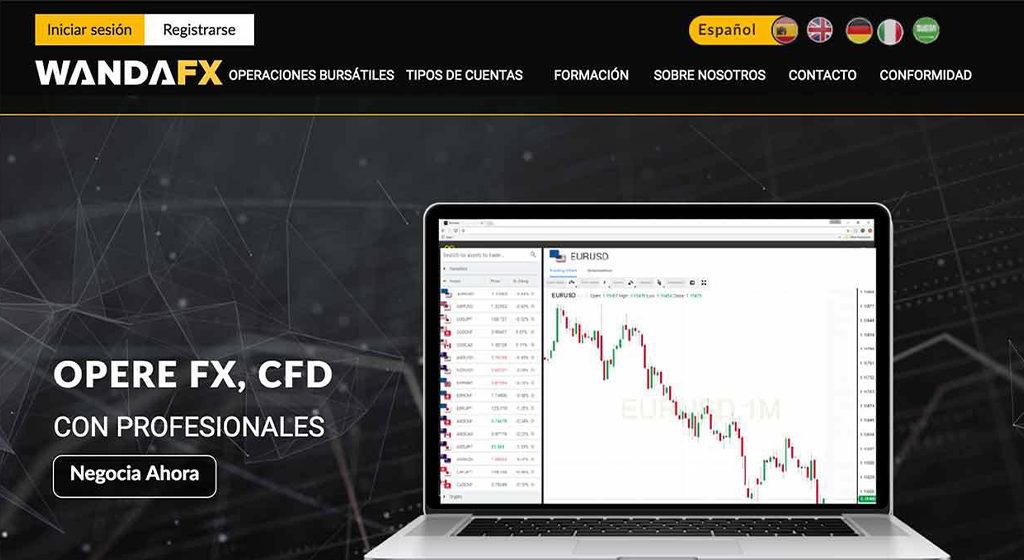 WandaFx Forex Estafa