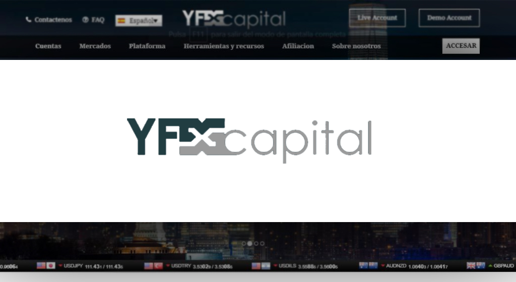 YFXCapital Forex Estafa