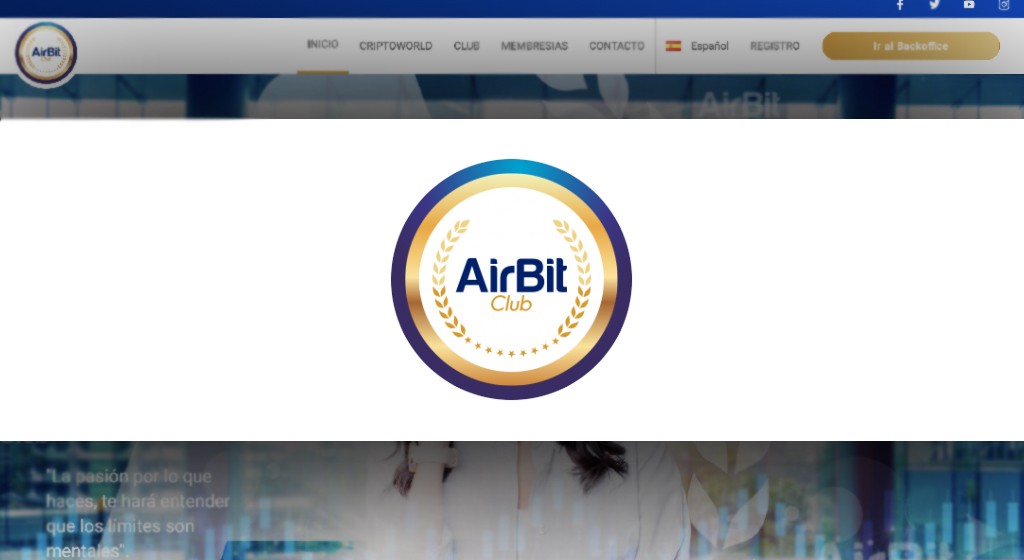 Air Bit Club Crypto Estafa