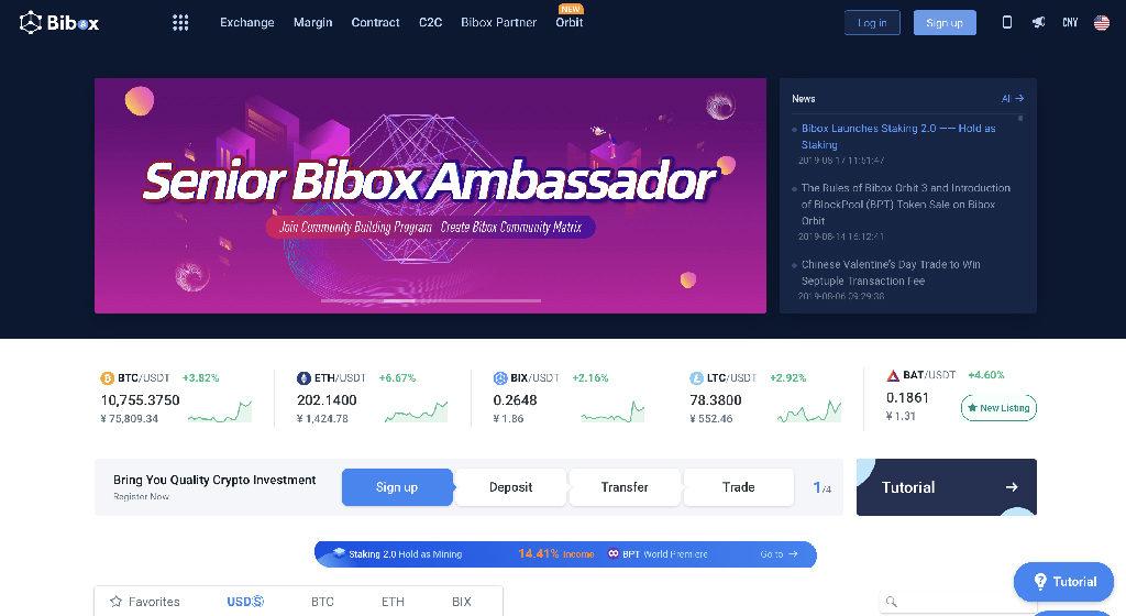 BiBox Crypto Broker