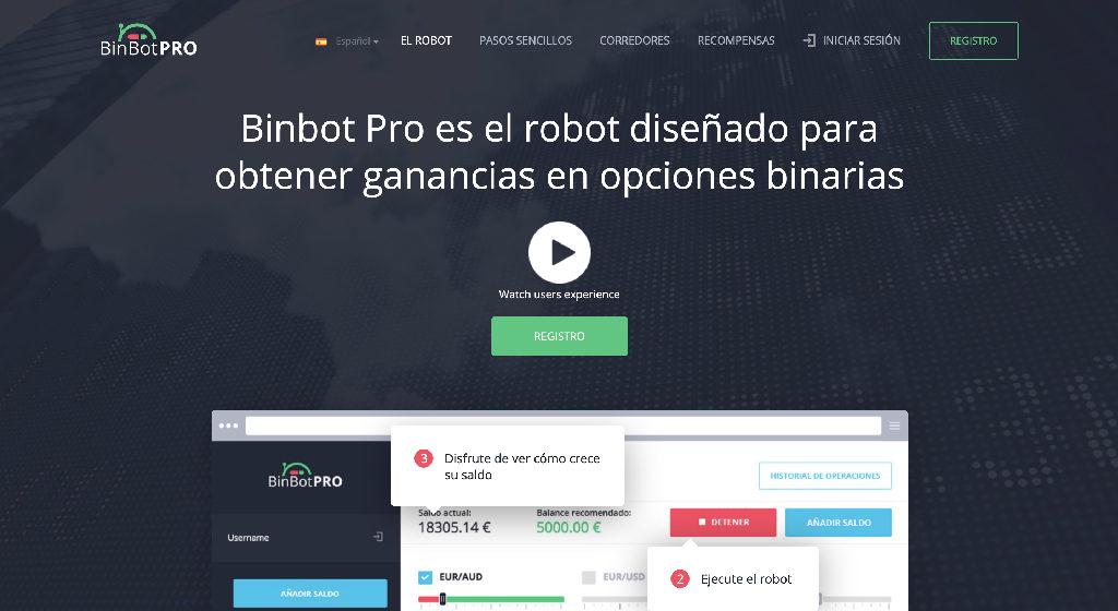 Bin Bot Pro Crypto Estafa