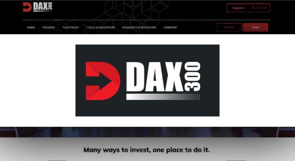 DAX 300 Forex Estafa