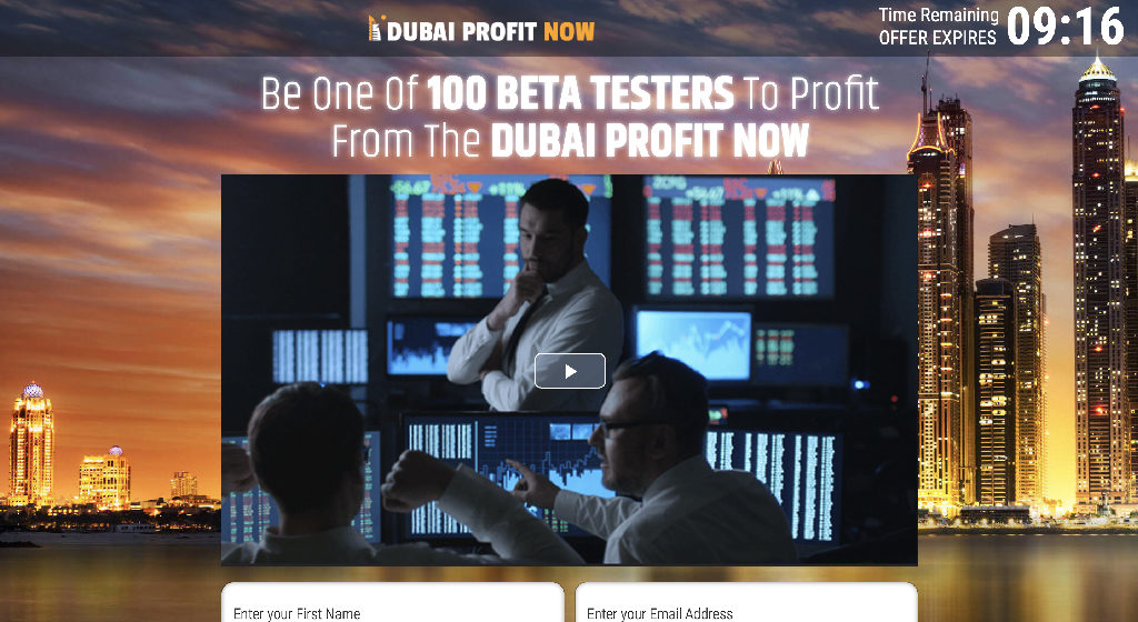 Dubai Profit Now Forex Estafa