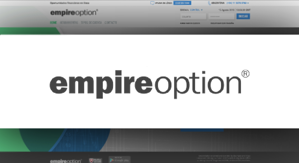 Empire Option Forex Estafa