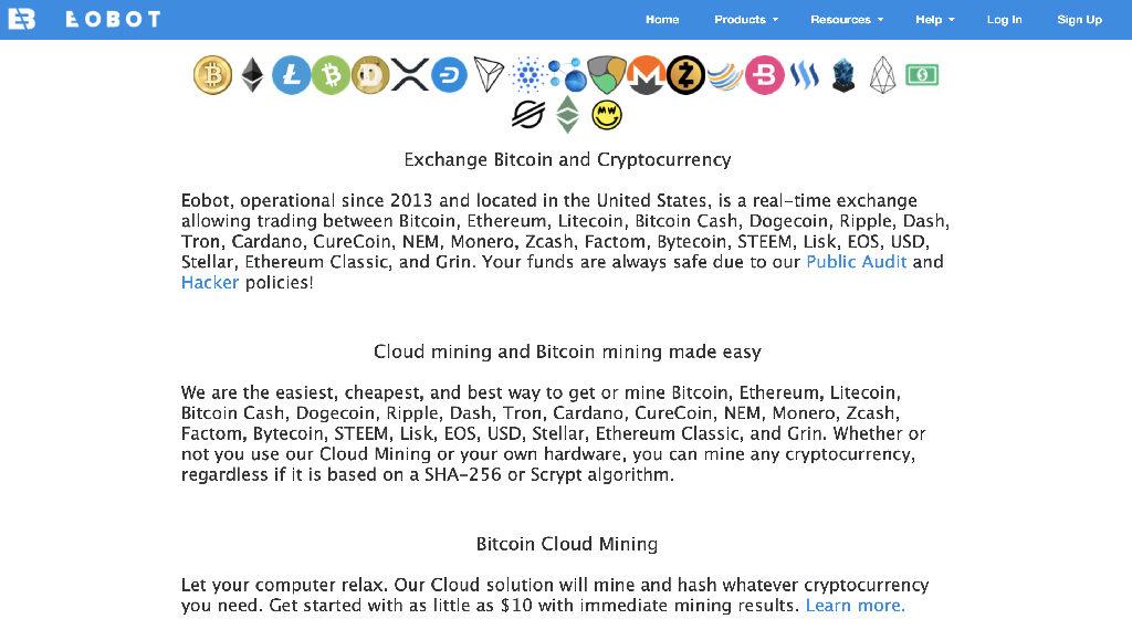 EOBOT Crypto Estafa