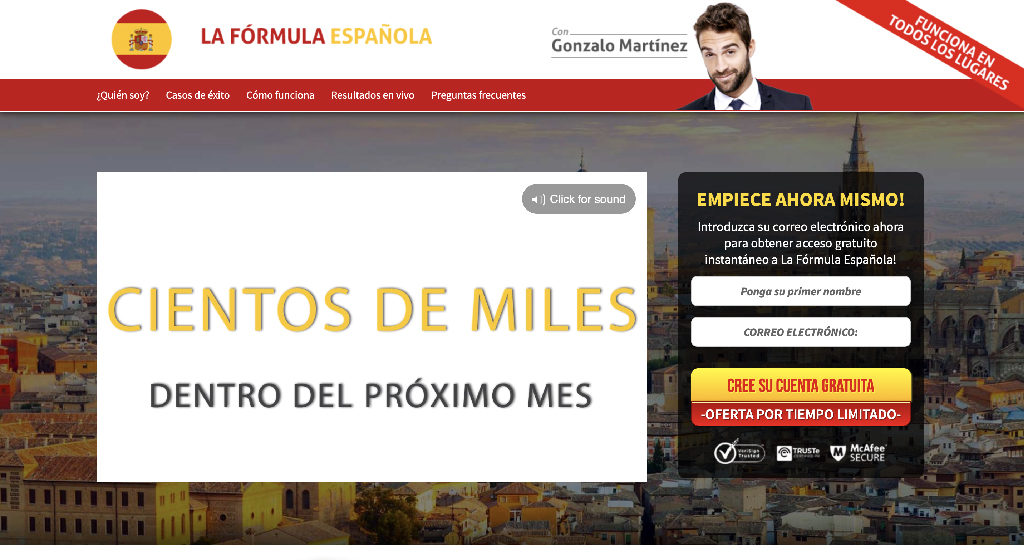 Formula Española Crypto Estafa