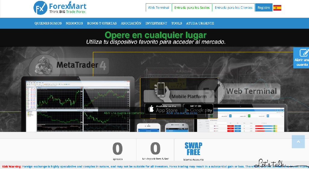 ForexMart Forex Estafa