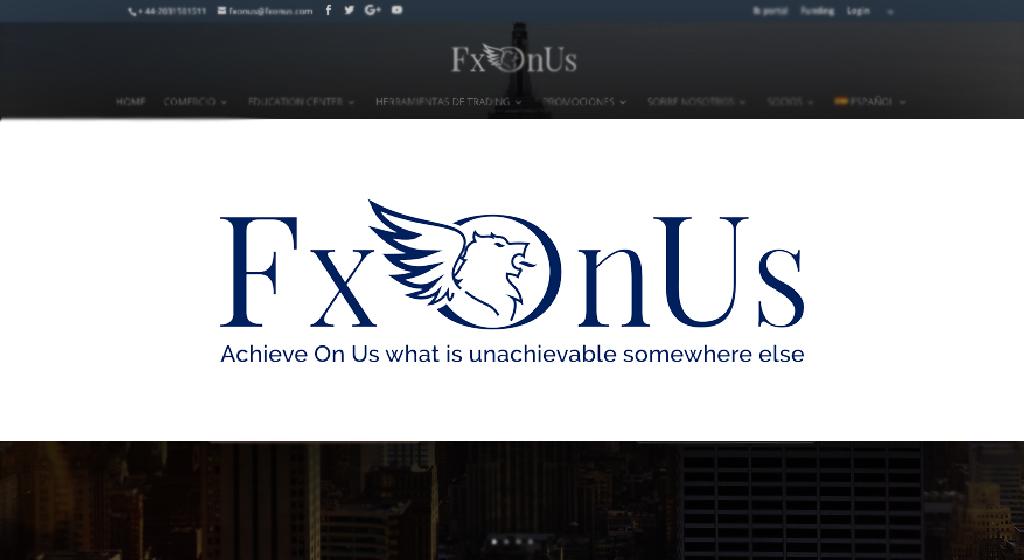 Photo of FxOnUs Broker Estafa| Forex Estafa