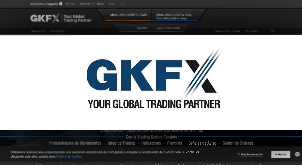 GKFX Forex Estafa