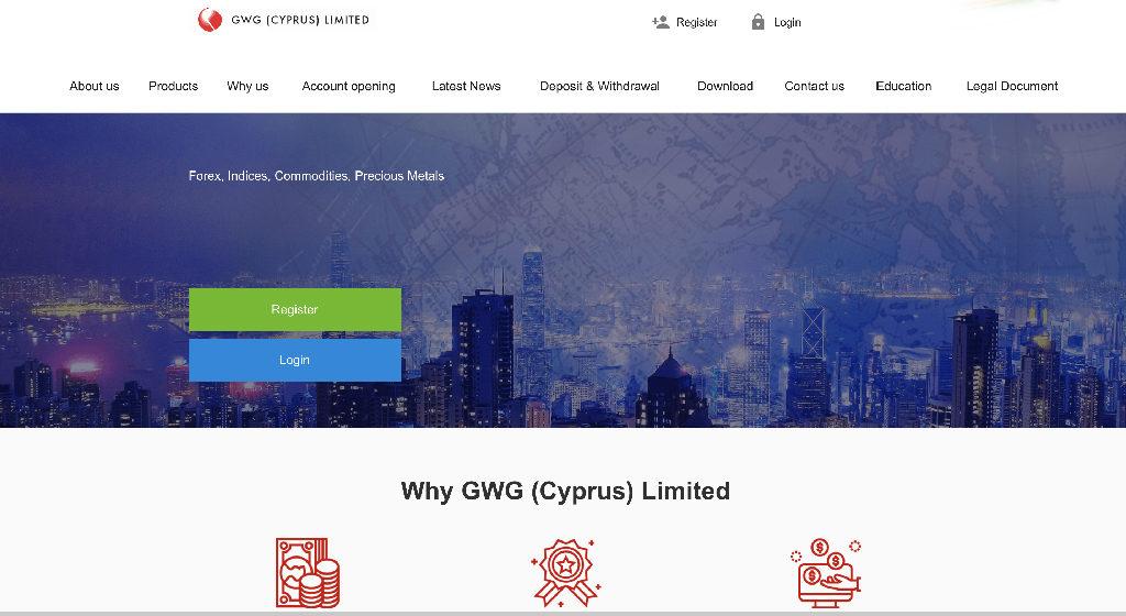 GWG Limited Forex Estafa