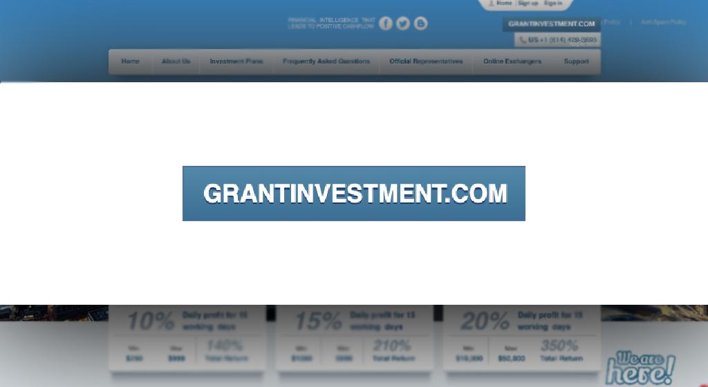 Grantinvestment Forex Estafa