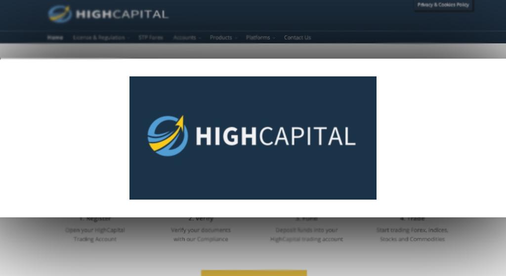 HighCapital Forex Estafa