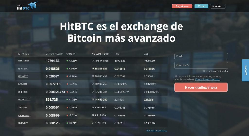 HitBTC Crypto Broker