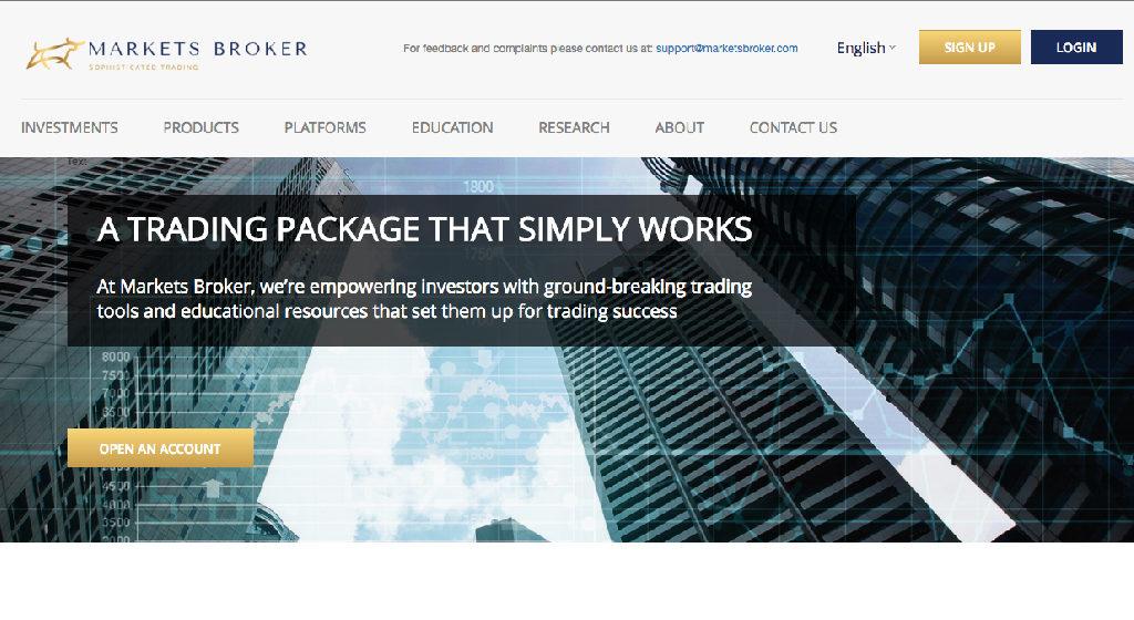 Markets Broker Forex Estafa