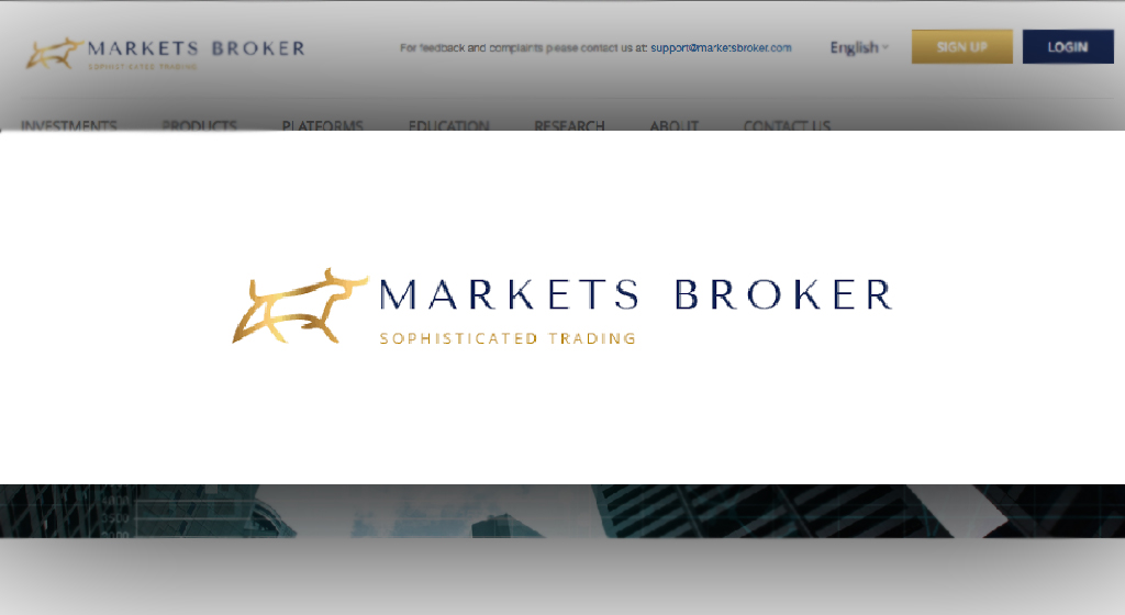 Markets Broker Forex Estafa