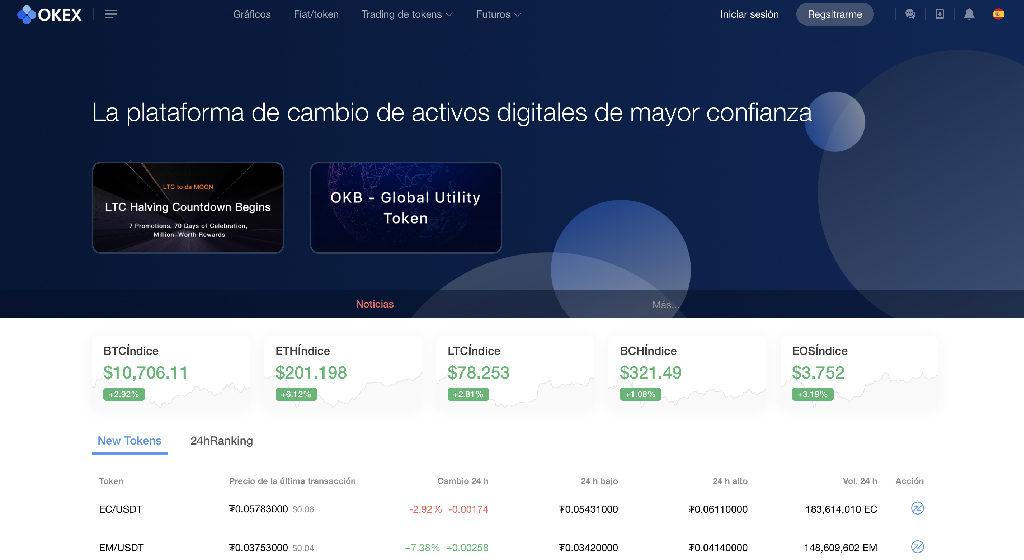 OkEx Crypto Broker