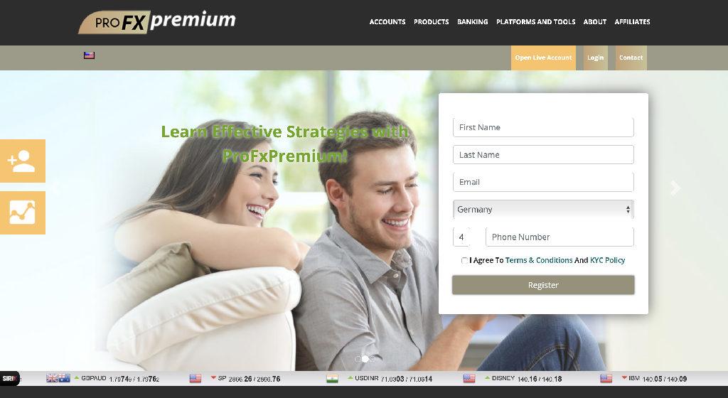 ProFXPremium Forex Estafa