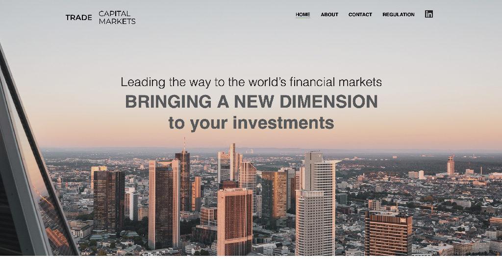 Trade Capital Markets Forex Estafa