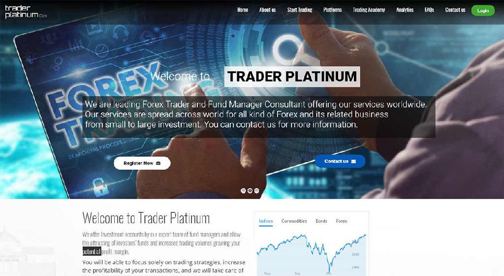Trader Platinum Forex Estafa