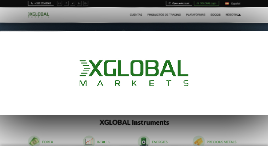 XGlobal Markets Forex Estafa