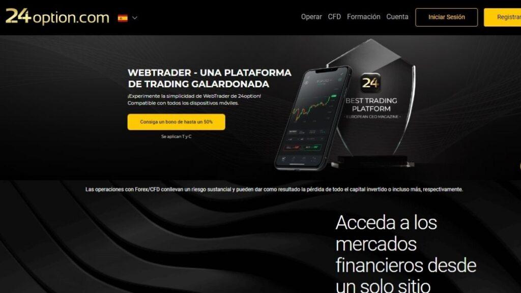 24option Forex Estafa   WebTrader