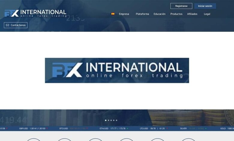 Bfx International Forex Estafa