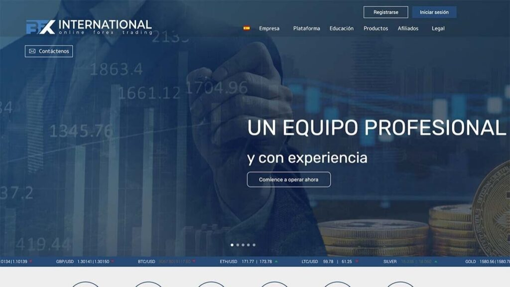 Bfx International Forex Estafa