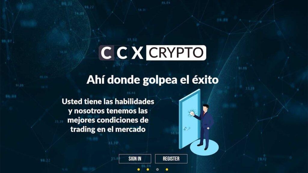 Ccxcrypto Forex Estafa |Criptomonedas