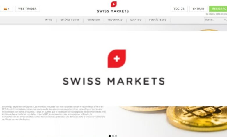 Swiss markets Forex Estafa