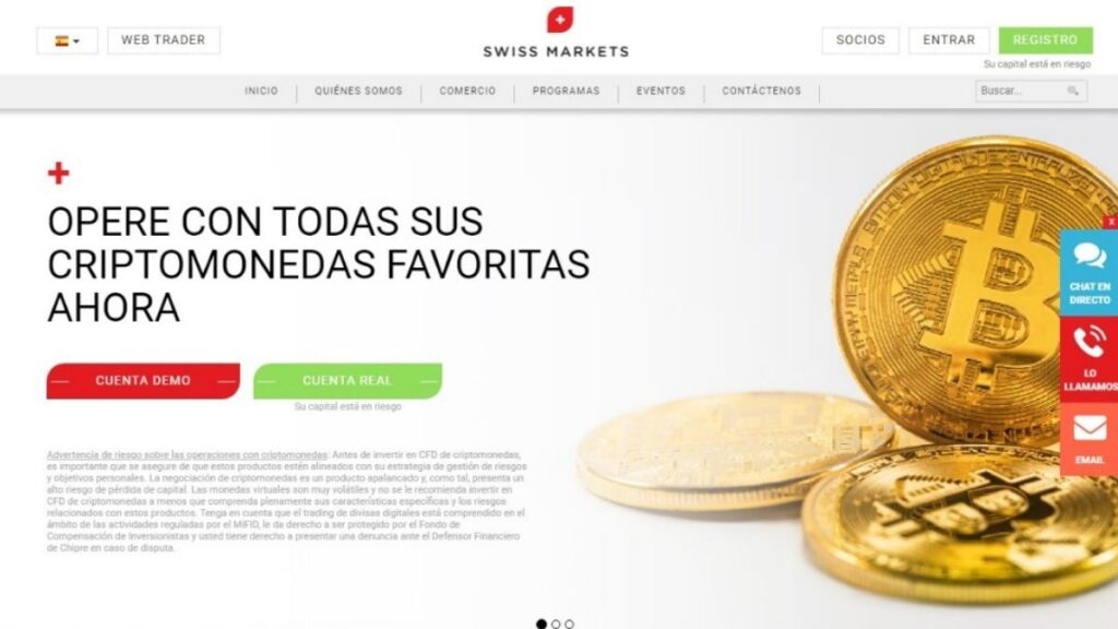 Swiss markets Forex Estafa