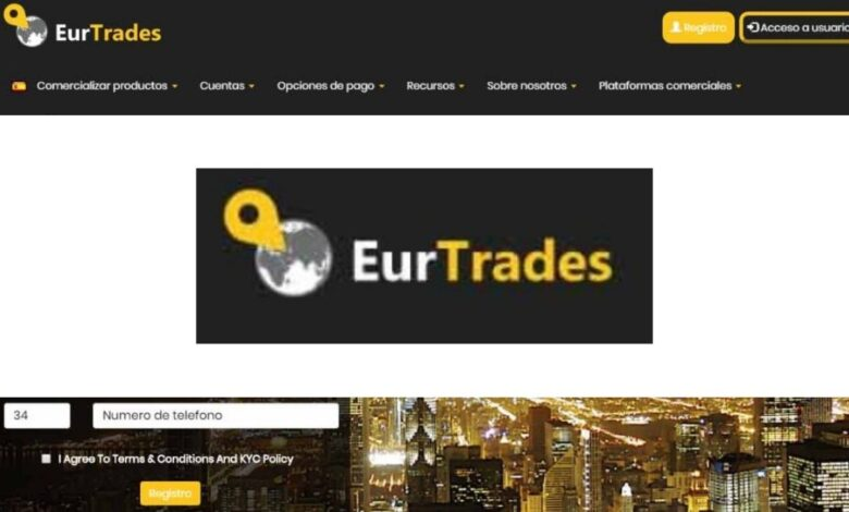 Eurtrades Crypto Estafa