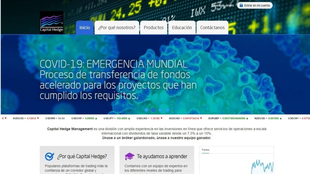 Capital Hedge Forex Estafa
