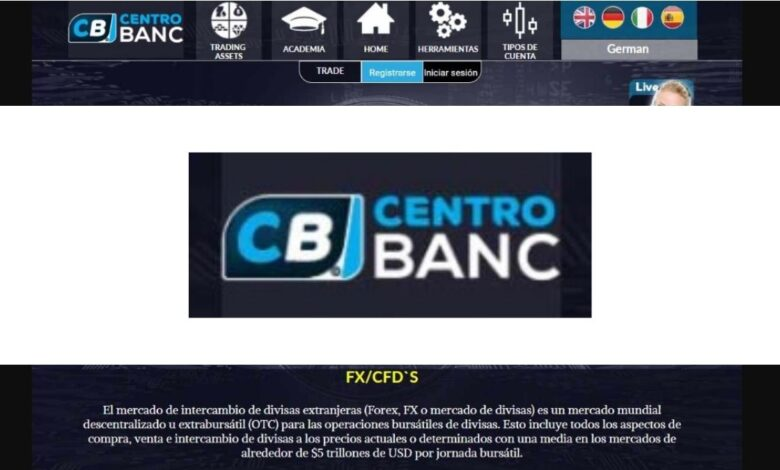 Centro Banc Forex Estafa