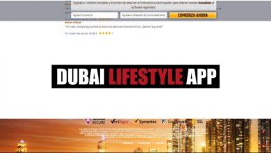Dubai Lifestyle App Binaria Estafa