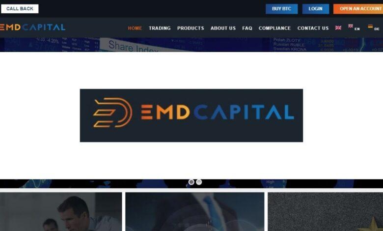 Emdcapital.com Forex Estafa