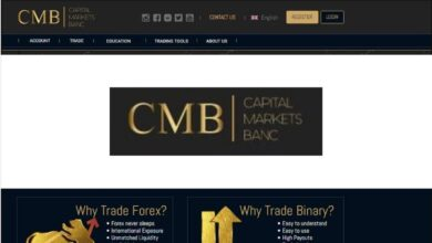 Cmb capital markets bank Binaria Estafa