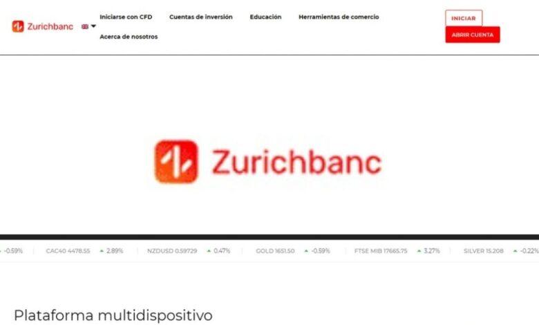Zurichbanc Forex Estafa